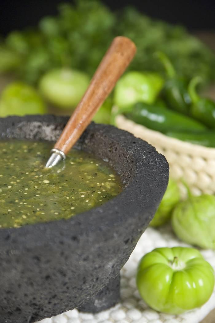 Salsa de Molcajete Verde